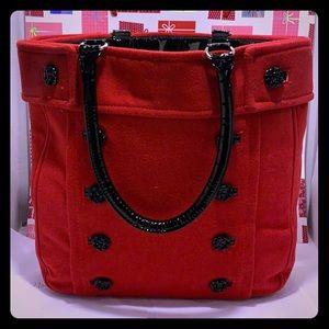 GentlyUsed Braciano Red Large Weekender Tote Bag